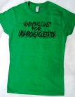 UxLxCxM  - UNDYING LUST FOR CADAVEROUS MOLESTATION - GREEN Girlie - Size S