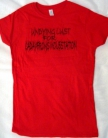 UxLxCxM  - UNDYING LUST FOR CADAVEROUS MOLESTATION - RED Girlie - Size S