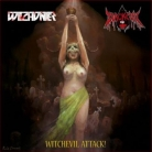 WITCHUNTER / BLACKEVIL - split 12'' LP - Witchevil Attack! (Black Vinyl)