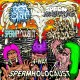 4 WAY SPERMHOLOCAUST -CD- SPERMSWAMP / SPERM OF MANKIND / SPERMBLOODSHIT / SPERM OVERDOSE