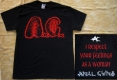 ANAL CUNT / AxCx - I Respect Your Feelings - T-Shirt size M