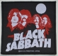 BLACK SABBATH - red-Portraits - woven Patch