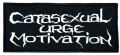 CATASEXUAL URGE MOTIVATION (C.U.M.)  - embroidered Logo Patch