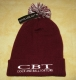 COCK AND BALL TORTURE - Snowstar® - BURGUNDY Beanie