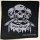 DISCHARGE - 3-Skulls - woven Patch