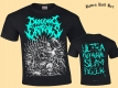 DRAGGING ENTRAILS - Ultra Guttural Slam Dozer - T-Shirt size S