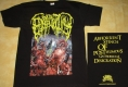 EPICARDIECTOMY - Abhorrent Stench / yellow Logo - T-Shirt Size M