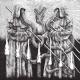 "GRAVEYARD / KÖRGULL -split 12"" LP- La Germandat de la nit Profunda"