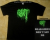 GUT - Dead Girls Don't Say No - T-Shirt size M