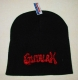 GUTALAX - black Beanie - red Logo