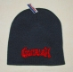 GUTALAX - graphite grey Beanie - red Logo