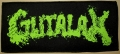 GUTALAX - green Logo - large woven Patch