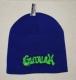 GUTALAX - purlpe Beanie - green Logo