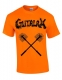 GUTALAX - toilet brushes - savety orange T-Shirt Größe XL