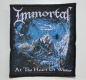 IMMORTAL - At the Heart of Winter - woven Patch