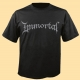 IMMORTAL - grey Logo - T-Shirt