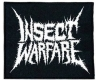 INSECT WARFARE - embroidered logo Patch