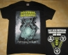 INTERNAL BLEEDING - Patterns Of Force - Yellow Logo - T-Shirt - Größe L