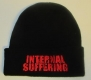 INTERNAL SUFFERING - red Logo - Winterhead