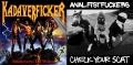 KADAVERFICKER / ANAL FISTFUCKERS - split 7'' EP -