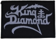 KING DIAMOND - Logo - woven Patch