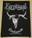 KORPIKLAANI - Finland - woven Patch