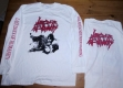 LAST DAYS OF HUMANITY - Hymns Of Indigestible - white Longsleeve Size XL
