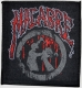 MACABRE - Blood Logo - woven Patch