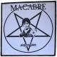 MACABRE - Nightstalker - woven Patch