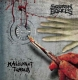 MALIGNANT TUMOUR / SQUASH BOWELS - split 12'' LP - Flesh... In Death (weißes Vinyl)