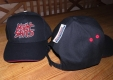 MEAT SHITS - Black/Red Baseball Cap