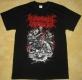MYOCARDIAL INFARCTION - red Logo - T-Shirt size L