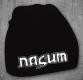 NASUM - weißes Logo - Beanie