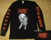 NO ONE GETS OUT ALIVE - Pitchfork Skull - Longsleeve size XL