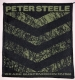PETER STEELE - We are suspended in dusk - woven Patch