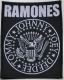 RAMONES - Classic Seal - woven Patch