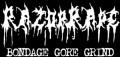 RAZOR RAPE - Logo - Gedruckter Aufnäher