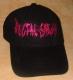 RECTAL SMEGMA -pink Logo - Baseball Cap