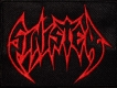 SINISTER - red Logo - embroidered patch