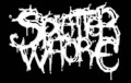 SPLATTER WHORE - Logo - Printed Patch
