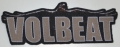 VOLBEAT - Logo - cutted woven Patch