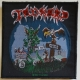 TANKARD - One Foot in the Grave - woven Patch